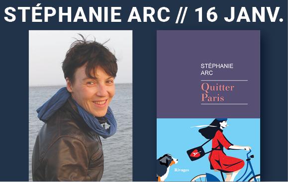 Stéphanie Arc_16 janv librairie Paris